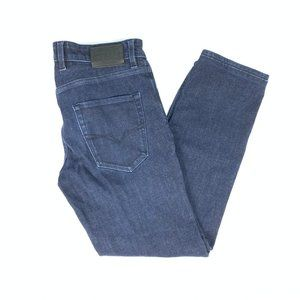 Womens Guess Slim Straight Blue Jeans Size 29